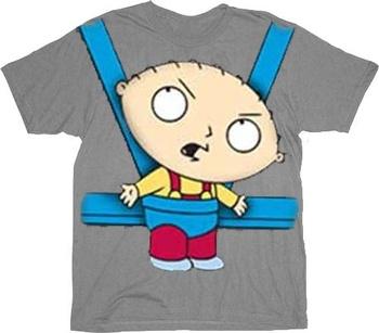 Stewie Baby Bjorn Carrier T-Shirt