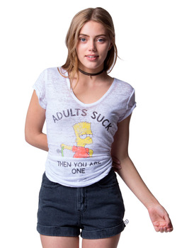 Simpsons Adults Suck Then You Are One T-Shirt
