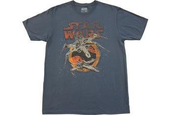 Star Wars Distressed Planes My Squadron T-Shirt