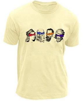 Teenage Mutant Ninja Turtles Real Artists T-Shirt