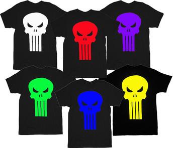 The Punisher Movie Skull Logo T-Shirt Tee