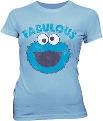 Sesame Street Fabulous Cookie Monster T-shirt