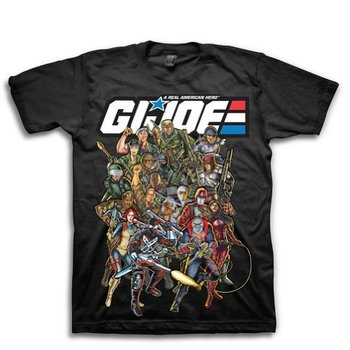 G.I. Joe Real American Hero Characters T-Shirt