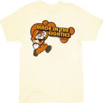 Super Mario Made in the Eighties 80's T-shirt