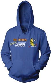 Bluth's Frozen Banana Fleece Sweatshirt Hoodie