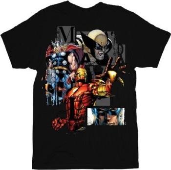 Marvel Comics Heroglyphics Team Ups T-shirt