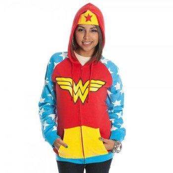Wonder Woman Costume Hoodie Jacket Sweatshirt