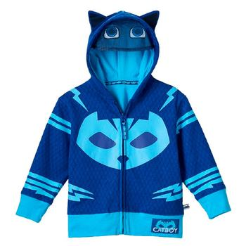 PJ Masks Toddler's Zip-Up Mask Hoodie