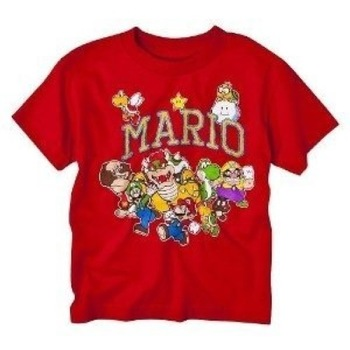 Nintendo Super Mario Bros. Characters T-Shirt